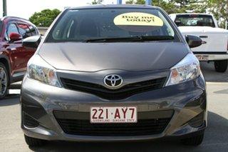 2014 Toyota Yaris NCP130R YR Grey 4 Speed Automatic Hatchback.