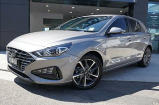 2020 Hyundai i30 ACTIVE Active Fluid Metal 6 Speed Automatic Hatchback.