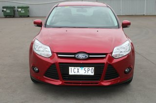 2014 Ford Focus LW MK2 MY14 Trend Red 6 Speed Automatic Hatchback.