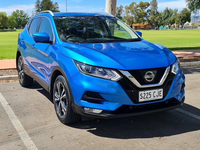 Used Nissan Qashqai J11 Series 2 ST-L X-tronic Nailsworth, 2017 Nissan Qashqai J11 Series 2 ST-L X-tronic Blue 1 Speed Constant Variable Wagon