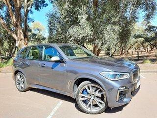 2019 BMW X5 G05 M50i Steptronic Grey 8 Speed Sports Automatic Wagon.
