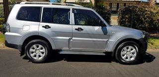 2009 Mitsubishi Pajero NT MY10 GLX LWB (4x4) Silver 5 Speed Auto Sports Mode Wagon.