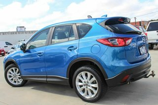 2013 Mazda CX-5 KE1021 MY13 Grand Touring SKYACTIV-Drive AWD Blue 6 Speed Sports Automatic Wagon
