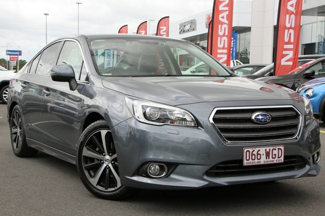 Used Subaru Liberty B6 MY15 2.5i CVT AWD Premium Aspley, 2015 Subaru Liberty B6 MY15 2.5i CVT AWD Premium Silver 6 Speed Constant Variable Sedan