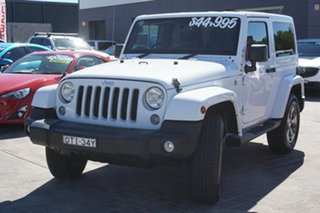 2017 Jeep Wrangler JK MY17 Overland White 5 Speed Automatic Hardtop
