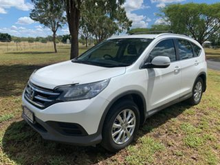 2013 Honda CR-V RM VTi White Orchid 5 Speed Automatic Wagon