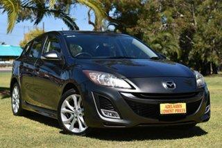 2010 Mazda 3 BL10L1 SP25 Grey 6 Speed Manual Hatchback.