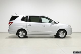 2013 Ssangyong Stavic A100 08 Upgrade 2.7 XDI Silver 5 Speed Automatic Wagon