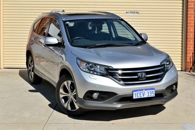 Used Honda CR-V RM VTi-L 4WD Mount Lawley, 2013 Honda CR-V RM VTi-L 4WD Silver 5 Speed Automatic Wagon