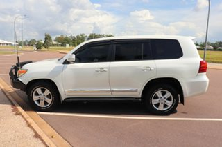 2014 Toyota Landcruiser VDJ200R MY13 Sahara Crystal Pearl 6 Speed Automatic Wagon