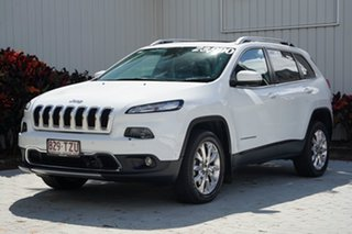 2014 Jeep Cherokee KL Limited Bright White 9 Speed Sports Automatic Wagon