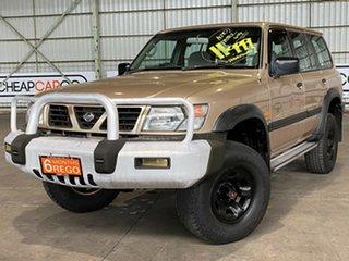 1998 Nissan Patrol GU ST Gold 4 Speed Automatic Wagon.
