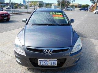 2007 Hyundai i30 FD SLX Grey 4 Speed Automatic Hatchback.
