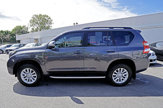 2017 Toyota Landcruiser Prado GDJ150R Kakadu Grey 6 Speed Sports Automatic Wagon