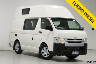 2019 Toyota HiAce KDH201R MY16 LWB White 4 Speed Automatic Van.