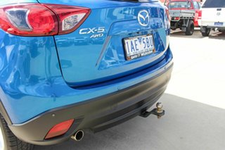2013 Mazda CX-5 KE1021 MY13 Grand Touring SKYACTIV-Drive AWD Blue 6 Speed Sports Automatic Wagon.