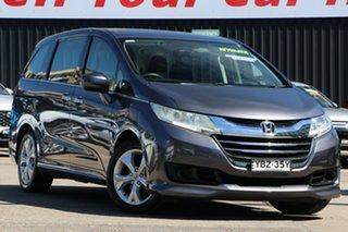 2015 Honda Odyssey RC MY16 VTi Chrome 7 Speed Constant Variable Wagon.