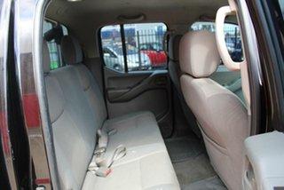 2009 Nissan Navara D40 RX (4x4) Black 5 Speed Automatic Dual Cab Pick-up
