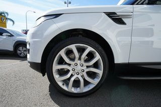 2016 Land Rover Range Rover LW MY17 Sport 3.0 TDV6 SE Fuji White 8 Speed Automatic Wagon.