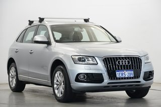 2015 Audi Q5 8R MY15 TDI S Tronic Quattro Silver 7 Speed Sports Automatic Dual Clutch Wagon