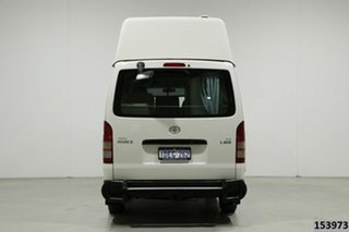 2009 Toyota HiAce TRH201R MY07 Upgrade LWB White 5 Speed Manual Van