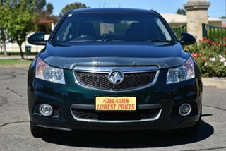2014 Holden Cruze JH Series II MY14 Z Series Green 6 Speed Sports Automatic Sedan.