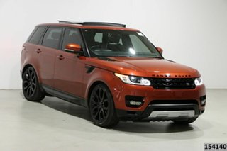 2014 Land Rover Range Rover LW Sport 3.0 SDV6 HSE Red 8 Speed Automatic Wagon