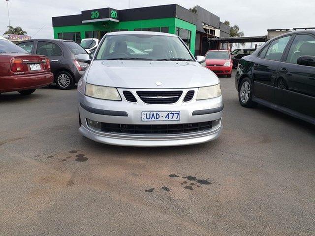 Used Saab 9-3 440 MY2005 Aero Sport Cheltenham, 2005 Saab 9-3 440 MY2005 Aero Sport Silver 5 Speed Sports Automatic Sedan
