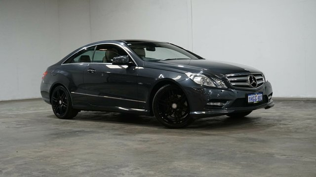 Used Mercedes-Benz E-Class C207 MY12 E250 BlueEFFICIENCY 7G-Tronic + Avantgarde Welshpool, 2012 Mercedes-Benz E-Class C207 MY12 E250 BlueEFFICIENCY 7G-Tronic + Avantgarde Tenorite Grey