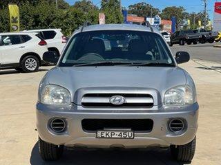 2005 Hyundai Santa Fe Silver Sports Automatic Wagon.