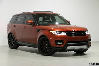 2014 Land Rover Range Rover LW Sport 3.0 SDV6 HSE Red 8 Speed Automatic Wagon.