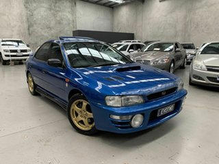 1998 Subaru Impreza N MY98 WRX Club Spec AWD Evo 2 Blue 5 Speed Manual Sedan.