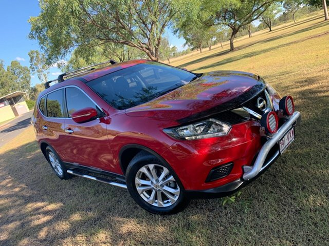Used Nissan X-Trail T32 ST X-tronic 4WD N-TREK Moree, 2015 Nissan X-Trail T32 ST X-tronic 4WD N-TREK Burning Red 7 Speed Constant Variable Wagon