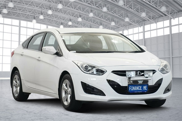 Used Hyundai i40 VF2 Active Victoria Park, 2015 Hyundai i40 VF2 Active White 6 Speed Sports Automatic Sedan