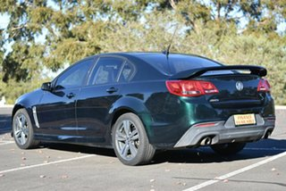 2013 Holden Commodore VF MY14 SV6 Green 6 Speed Manual Sedan