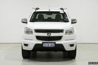 2013 Holden Colorado RG LTZ (4x4) White 5 Speed Manual Crew Cab Pickup.