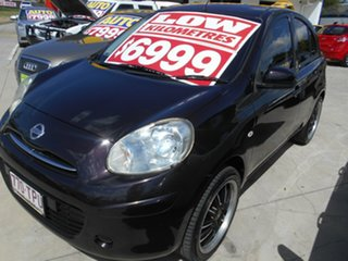 2011 Nissan Micra K13 ST Purple 5 Speed Manual Hatchback.