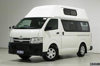 2011 Toyota HiAce TRH201R MY11 Upgrade LWB White 4 Speed Automatic Van.