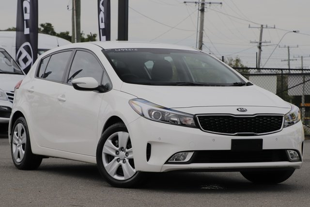 Used Kia Cerato YD MY17 S Rocklea, 2016 Kia Cerato YD MY17 S Clear White 6 Speed Sports Automatic Hatchback