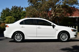 2010 Mitsubishi Lancer CJ MY10 VR White 6 Speed Constant Variable Sedan