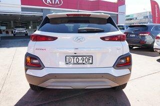 2017 Hyundai Kona OS Elite (AWD) White 7 Speed Auto Dual Clutch Wagon