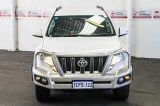 2014 Toyota Landcruiser Prado KDJ150R MY14 GXL (4x4) Glacier White 5 Speed Sequential Auto Wagon