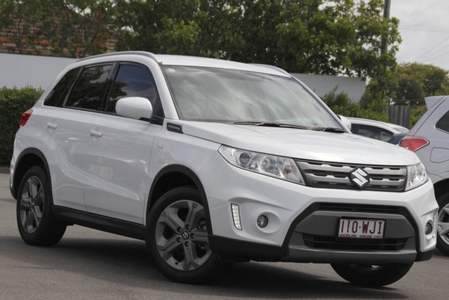 Used Suzuki Vitara LY RT-S 2WD Mount Gravatt, 2016 Suzuki Vitara LY RT-S 2WD White 6 Speed Sports Automatic Wagon