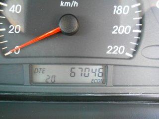 2002 Ford Falcon AU III Forte Silver 4 Speed Automatic Sedan