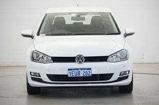 2015 Volkswagen Golf VII MY15 110TDI DSG Highline White 6 Speed Sports Automatic Dual Clutch.