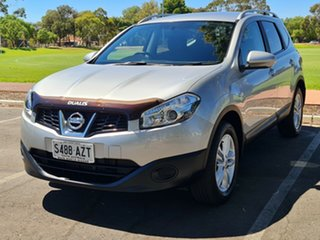 2013 Nissan Dualis J107 Series 3 MY12 +2 Hatch X-tronic 2WD ST Silver 6 Speed Constant Variable.