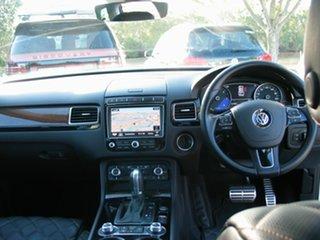 2017 Volkswagen Touareg 7P MY17 V6 Wolfsburg Edition White 8 Speed Automatic Wagon