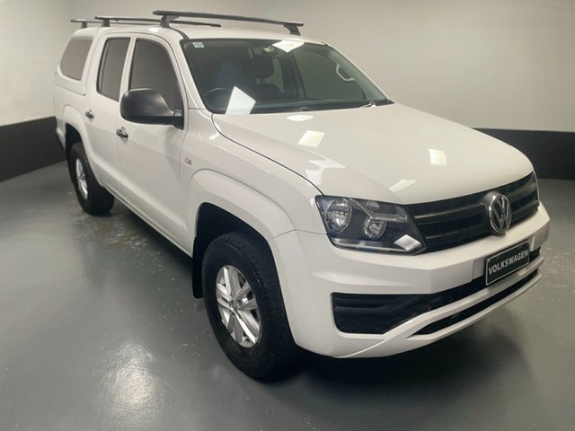 Used Volkswagen Amarok 2H MY18 TDI400 4MOT Core Hamilton, 2017 Volkswagen Amarok 2H MY18 TDI400 4MOT Core Candy White 6 Speed Manual Utility