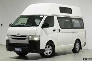 2016 Toyota HiAce TRH201R MY16 LWB White 5 Speed Manual Van.