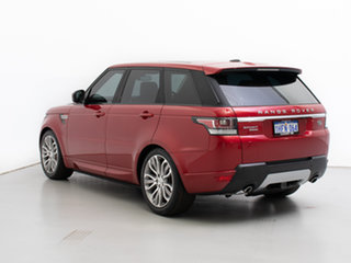 2015 Land Rover Range Rover LW MY15.5 Sport 3.0 SDV6 HSE Firenze Red 8 Speed Automatic Wagon